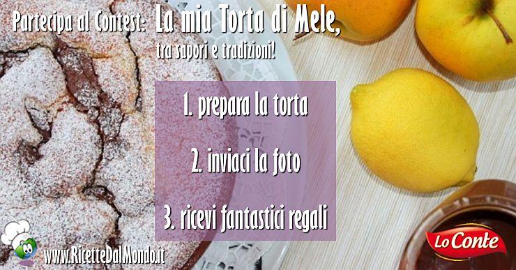 """Contest """"La mia torta di mele"""""""