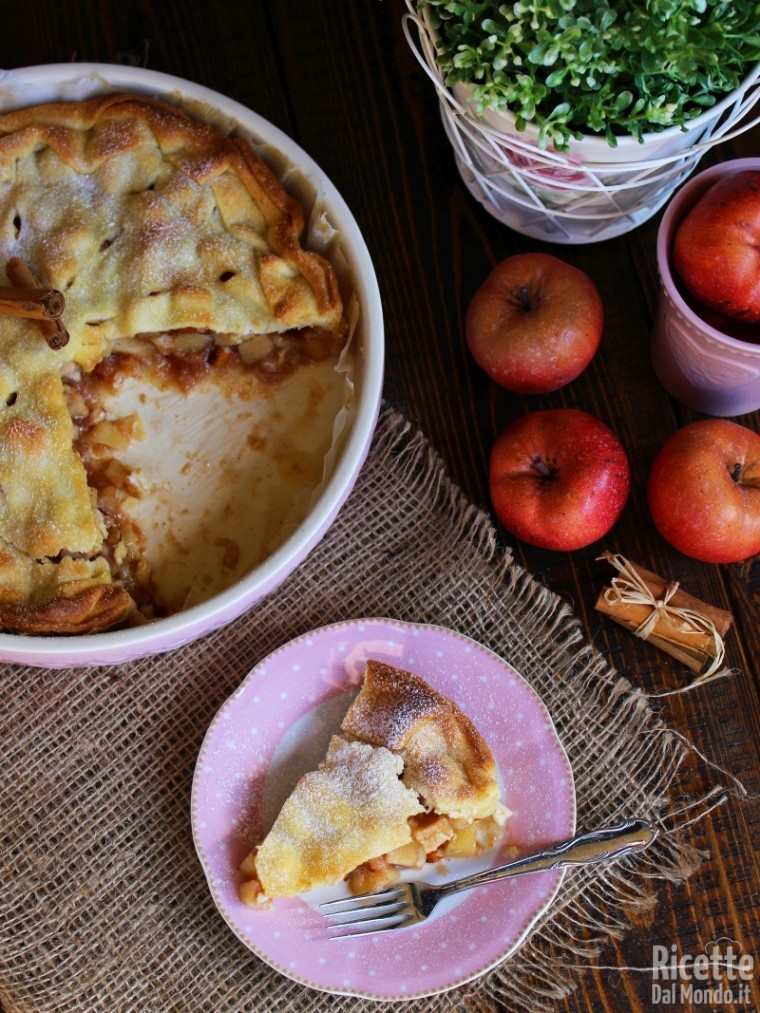 Apple pie alla cannella
