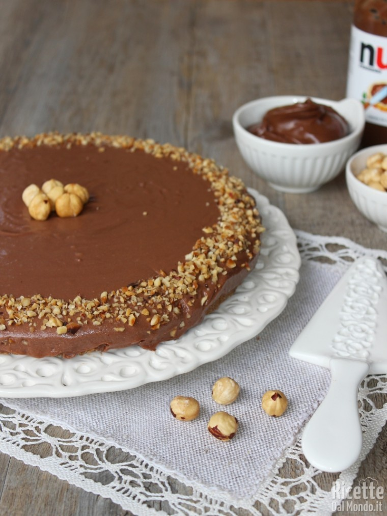 Come fare la cheesecake alla Nutella