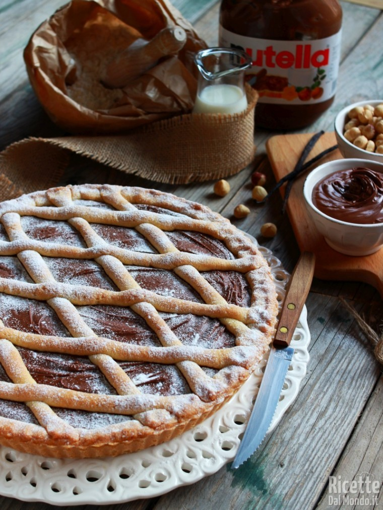 Come fare la crostata alla Nutella