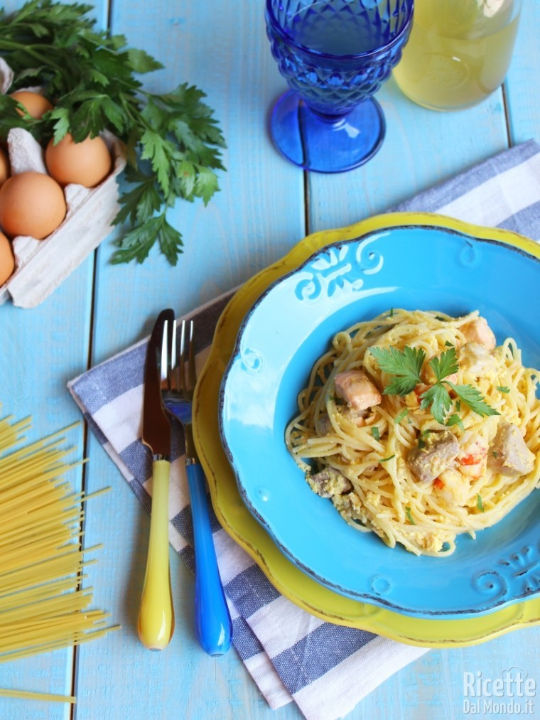 Come fare la carbonara di mare