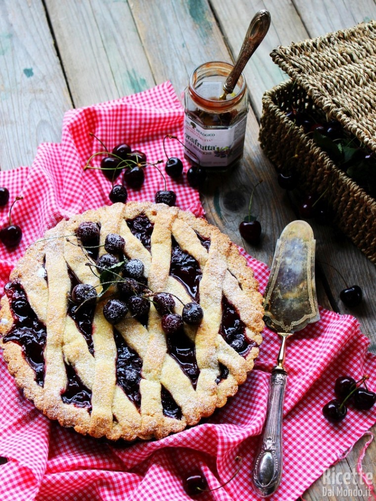 Come fare la crostata di ciliegie