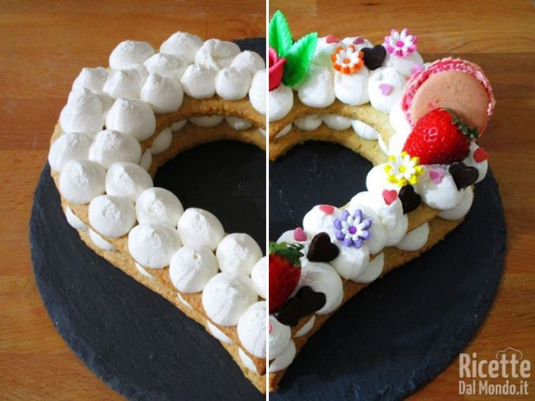 Decorare la cream tart