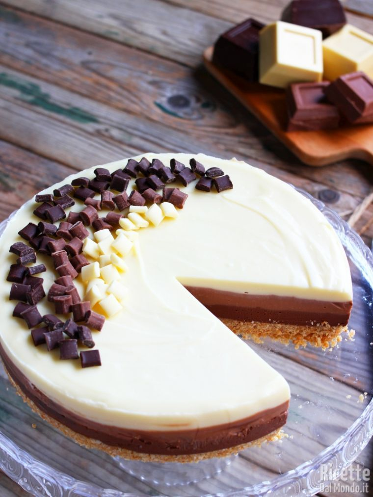Come fare una cheesecake al cioccolato