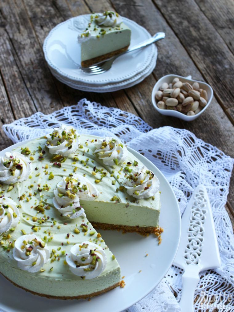 Come fare la cheesecake al pistacchio