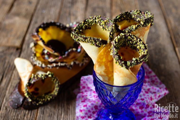 Cialde e coni per gelato senza piastra fatti in casa