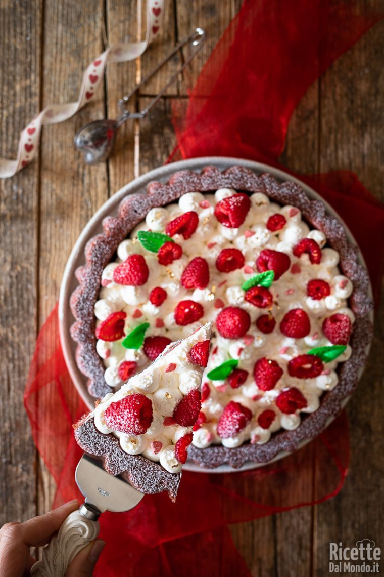 Come fare la crostata morbida red velvet