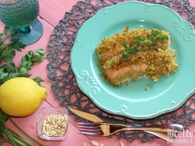 Filetto di salmone al forno 9