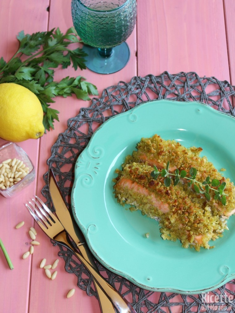 Come fare il filetto di salmone al forno