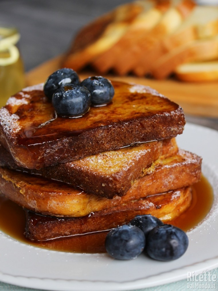 French toast ricetta originale