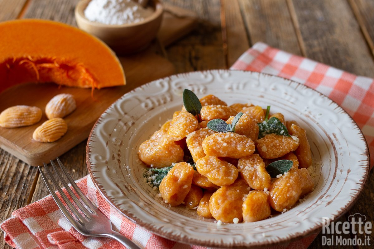 Ricetta Gnocchi Di Zucca Per Celiaci.Gnocchi Di Zucca Morbidi Senza Patate E Senza Uova