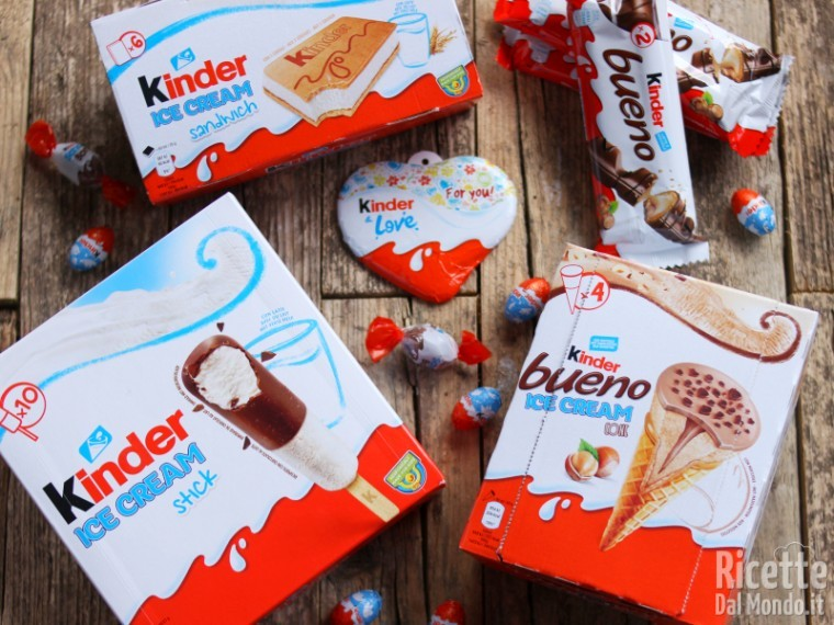 Kinder ice cream