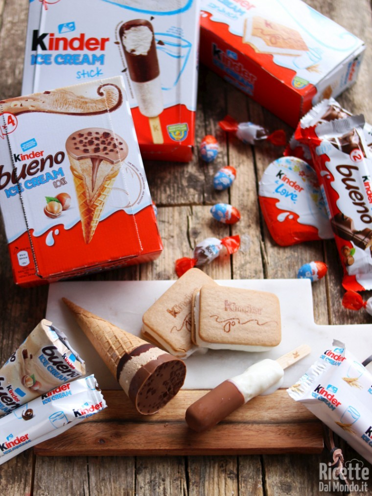 Kinder ice cream gelati, novità 2019