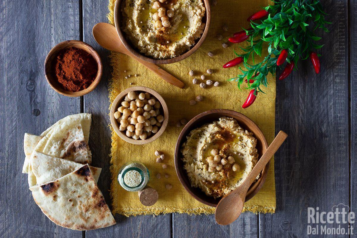Ricetta Hummus Kenwood.Hummus Di Ceci Fatto In Casa Marianna Pascarella