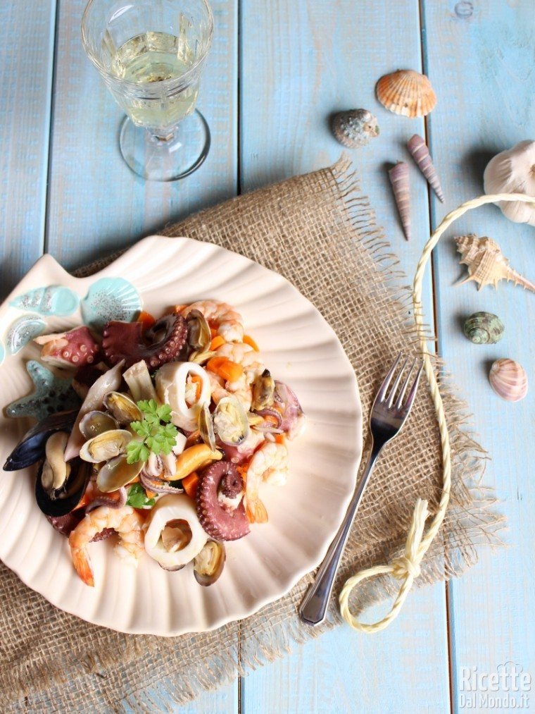Come fare l'insalata di mare