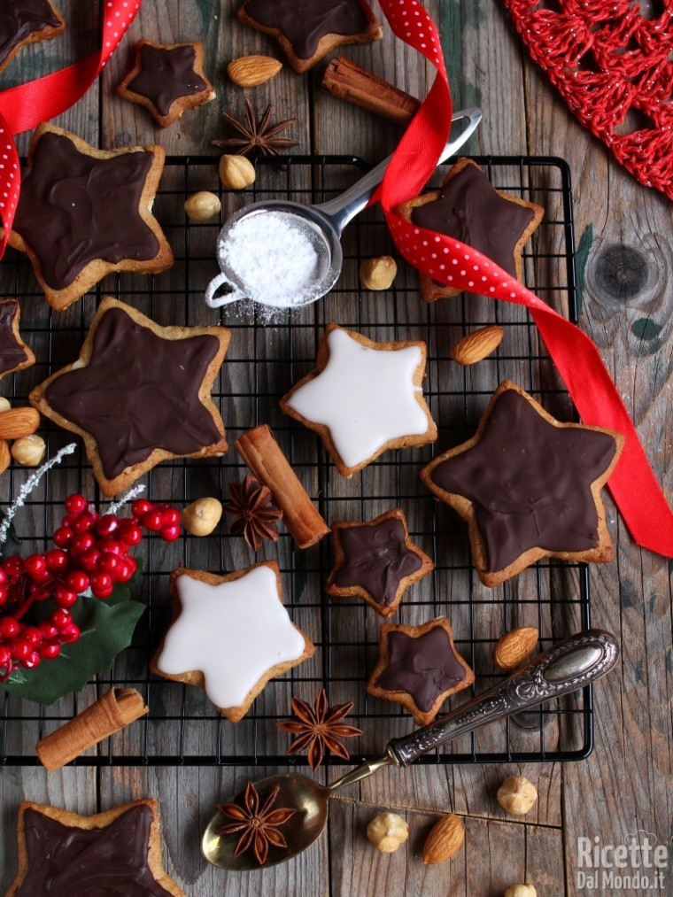 Dolci Tipici Tedeschi Natalizi.Lebkuchen Biscotti Di Natale Tedeschi Ricettedalmondo