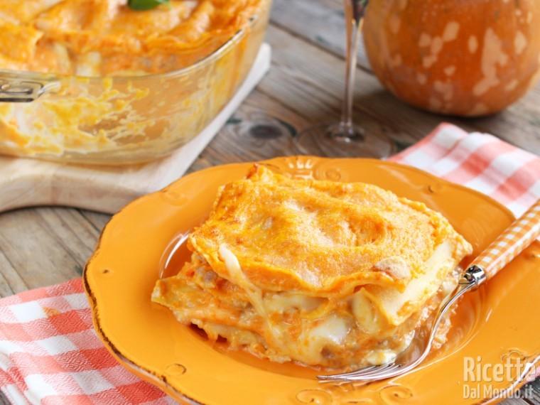 Ricetta Lasagne Kenwood.Lasagne Di Zucca E Salsiccia La Ricetta Di Marianna