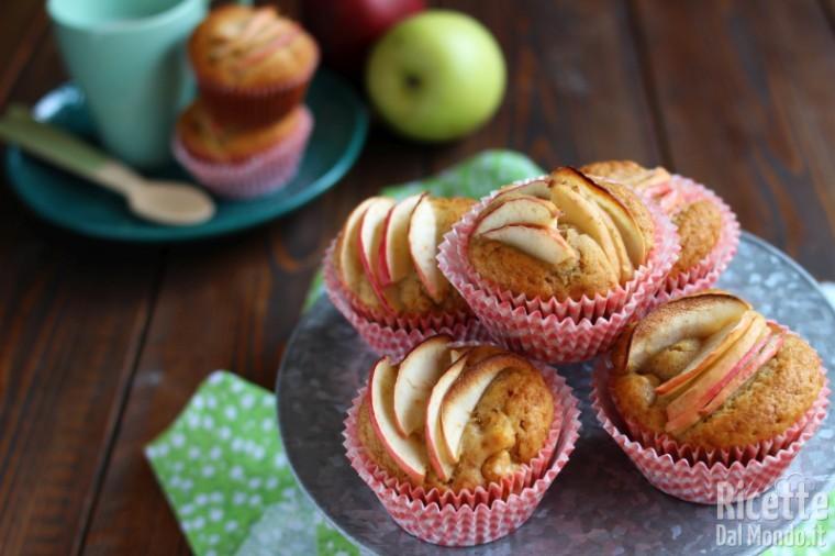 Ricetta Muffin Di Mele.Muffin Alle Mele Sofficissimi Marianna Pascarella