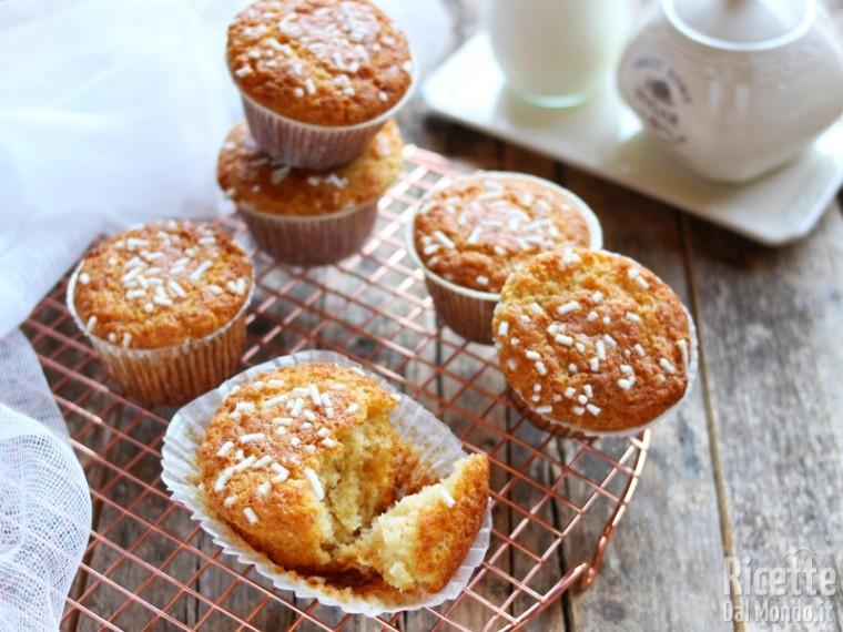 Ricetta Muffin Un Uovo.Muffin Allo Yogurt Sofficissimi Senza Burro Marianna Pascarella