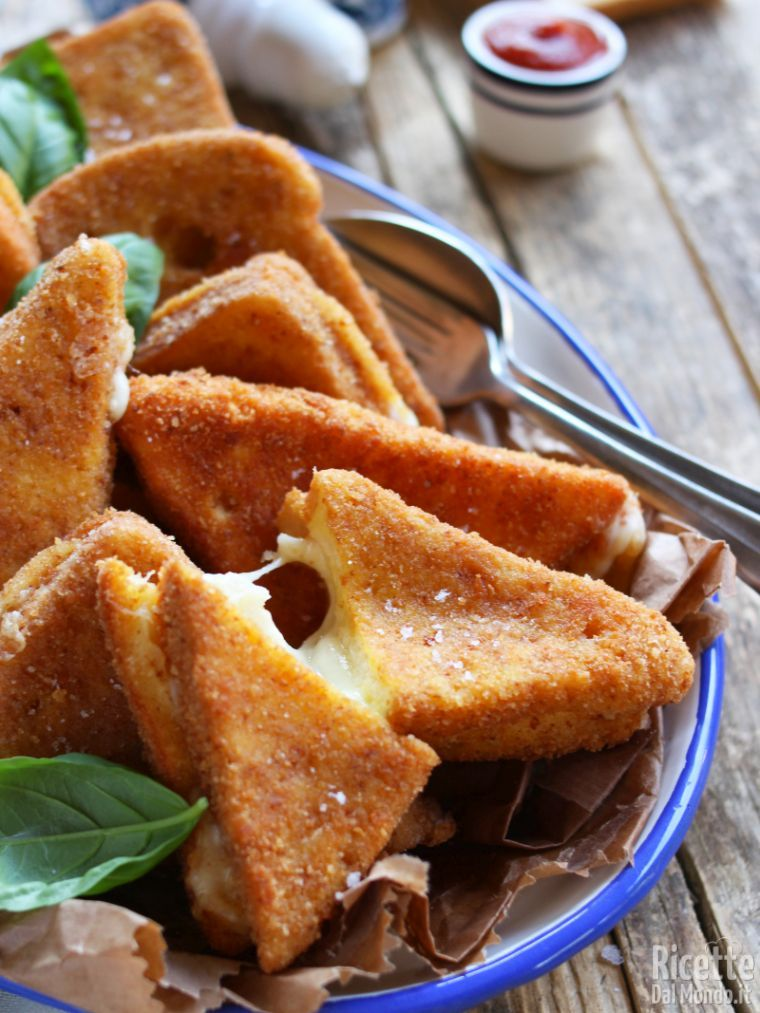 Come fare la mozzarella in carrozza filante