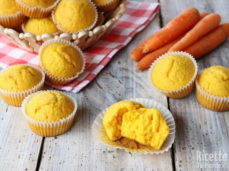 Ricetta Muffin Alle Carote.Muffin Alle Carote Senza Mandorle Ricettedalmondo It