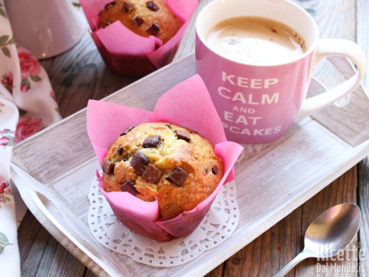 Ricetta Muffin Originale Americana.Muffin Di Starbucks Extra Large E Super Soffici Marianna Pascarella