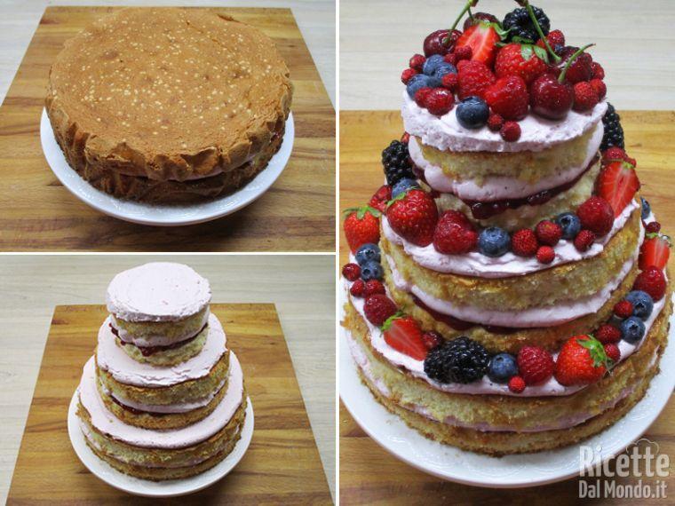 NAKED CAKE AI FRUTTI ROSSI 1 - Tacchi e Pentole®