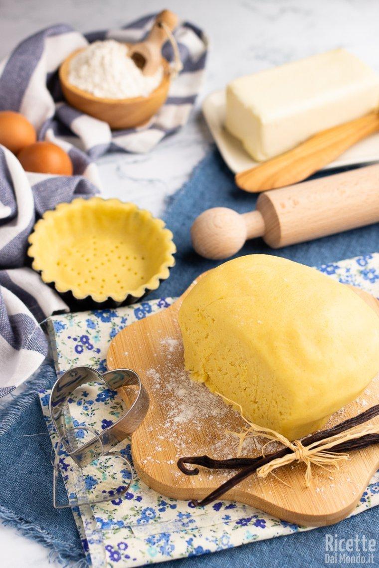 Ricetta Pasta Frolla Impastata A Mano.Pasta Frolla La Ricetta Completa Per Farla A Mano O Con Il Mixer