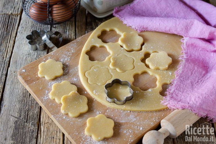 Ricetta Pasta Frolla Zucchero Normale.Pasta Frolla Per Biscotti Marianna Pascarella