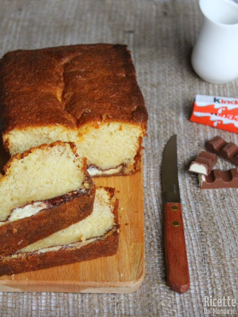 Come fare il plumcake al Kinder