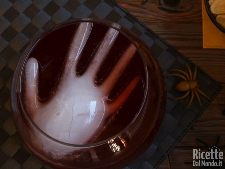 Semplice punch di Halloween