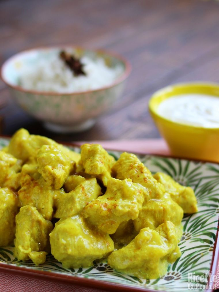 Come fare il pollo al curry