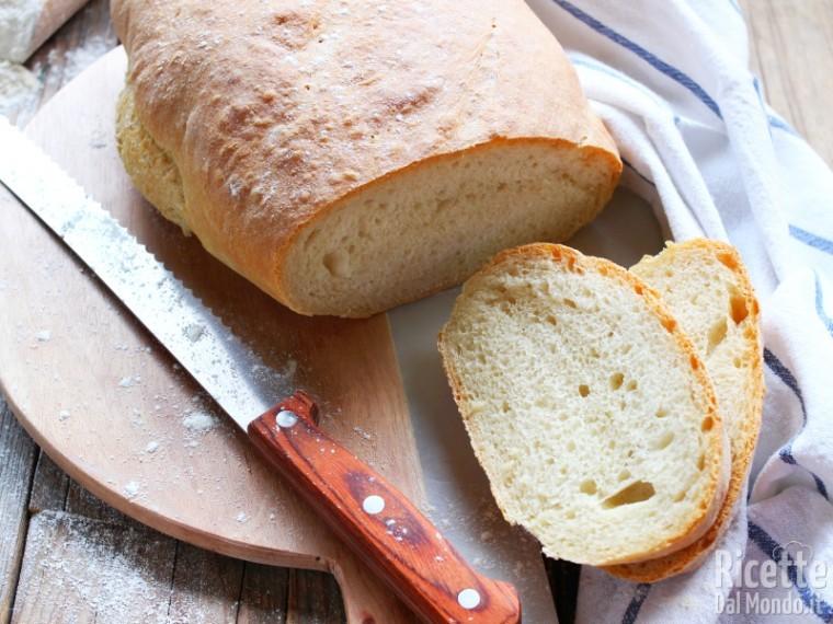 Ricetta Pane Umbro Senza Sale.Pane Senza Sale Toscano Fatto In Casa La Ricetta Di Marianna Pascarel
