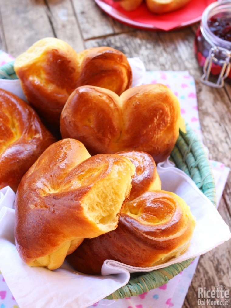 Heart bread recipe