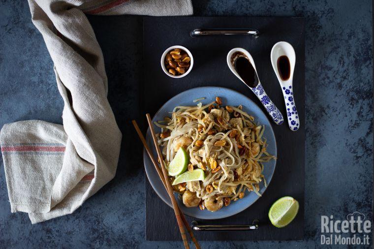Pad thai - la ricetta thailandese