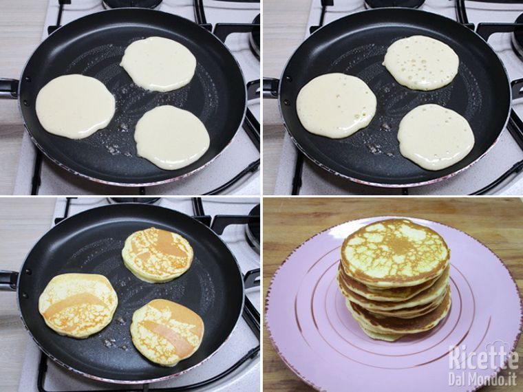 Cuocere i pancakes