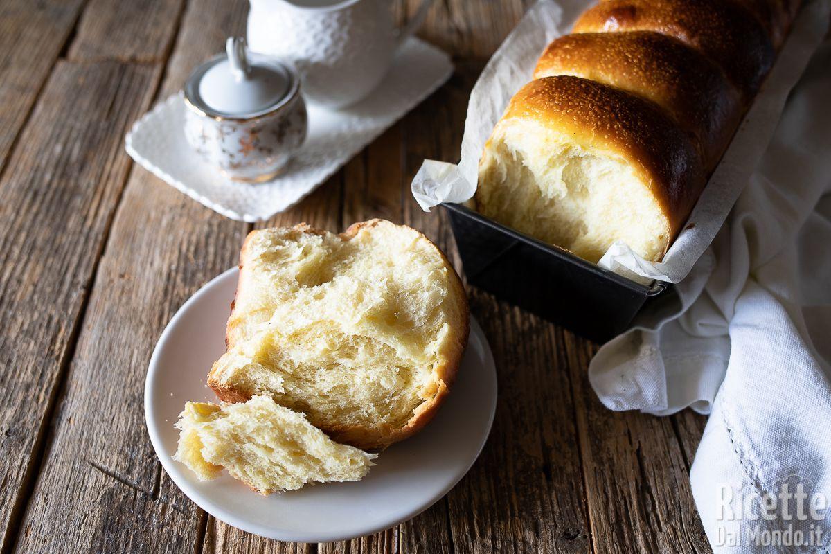 Pan brioche con lievito madre sofficissimo