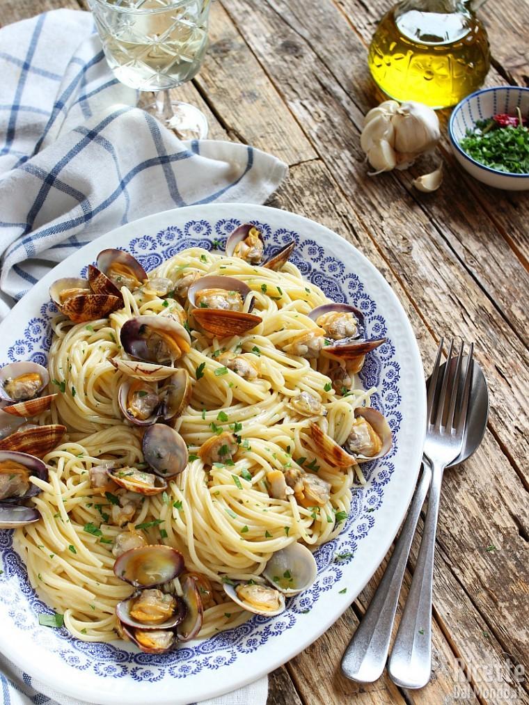 Ricetta Vongole Spaghetti.Spaghetti Alle Vongole Veraci Ricetta Pronta In 10 Minuti Marianna