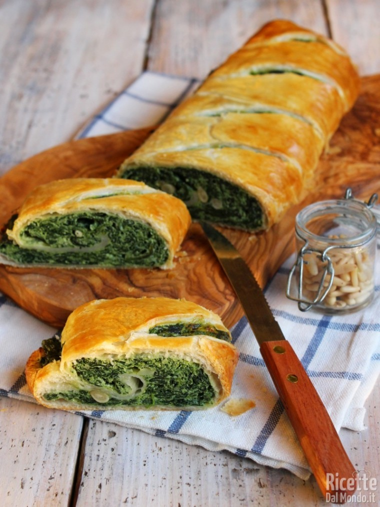 Come fare lo strudel di spinaci