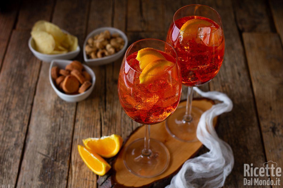 Ricetta Spritz Perfetto.Spritz Aperitivo Con Dosi E Ingredienti Per Farlo In Casa
