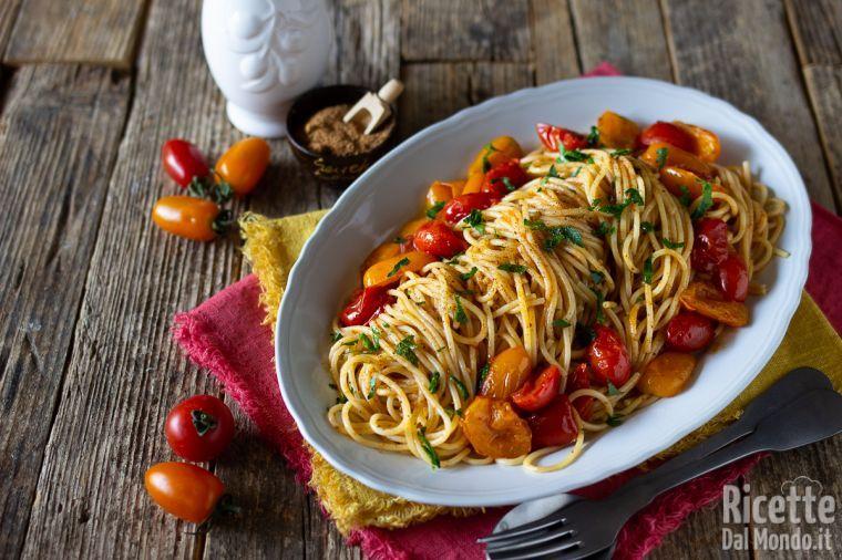 Ricetta spaghetti con bottarga di tonno