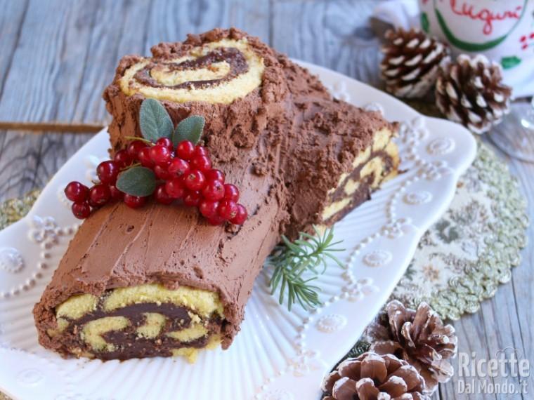 Tronchetto Di Natale.Tronchetto Di Natale Buche De Noel Marianna Pascarella