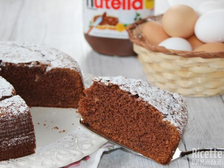 Ricetta Nutella Per Bimby.Torta Alla Nutella Bimby Veloce Ricettedalmondo It