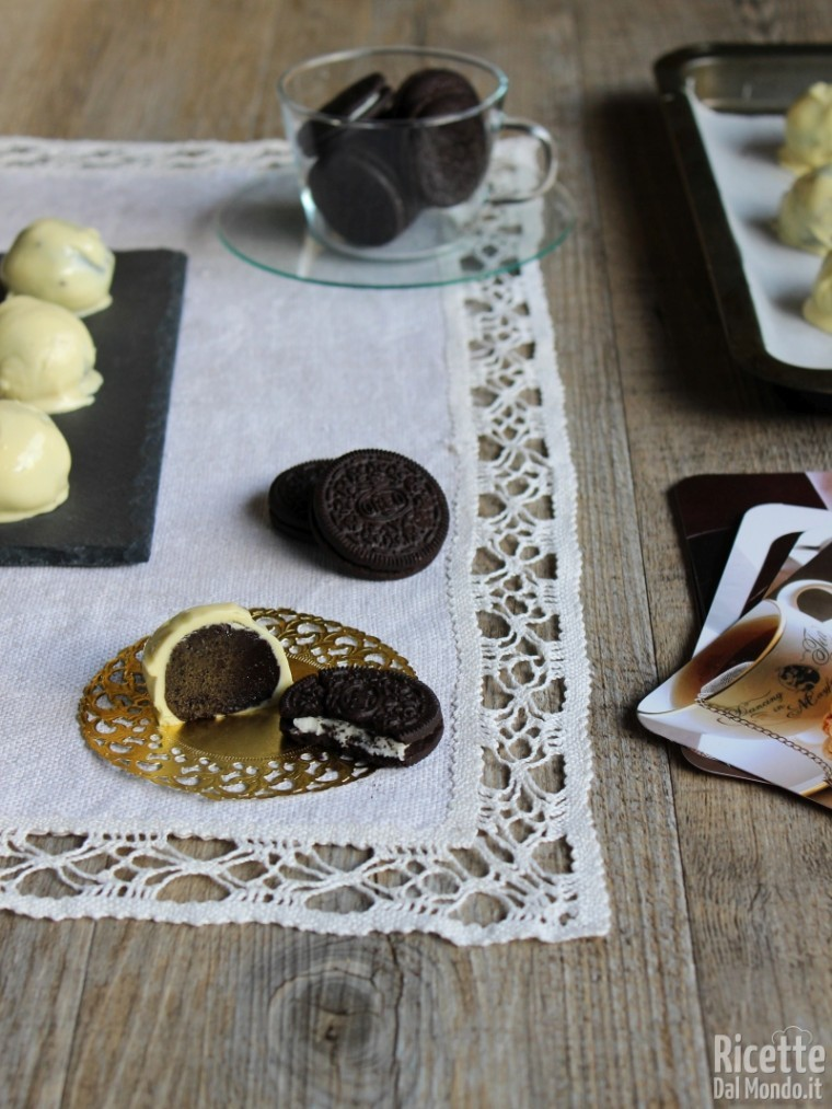 Come fare i tartufi Oreo