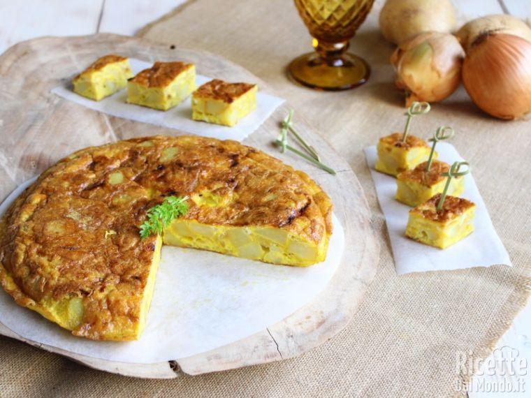 Ricetta Per Tortillas Spagnole.Tortilla De Patatas Tortilla Spagnola Patate E Cipolle