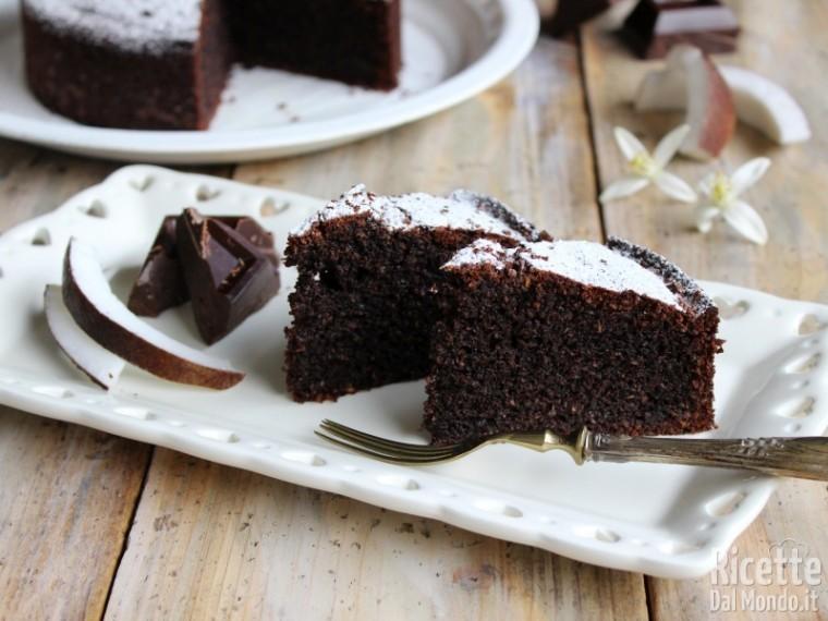 Ricetta Torta Al Cioccolato E Cocco.Torta Cocco E Cioccolato Soffice Ricettedalmlondo It