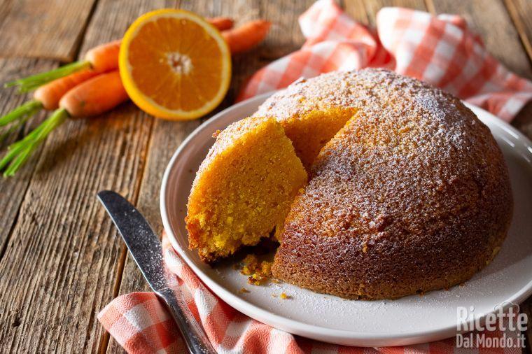 Torta camilla, la torta di carote e mandorle