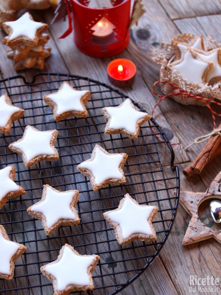 Biscotti Di Natale Zimtsterne.Zimtsterne I Biscotti Alla Cannella Tedeschi Marianna Pascarella